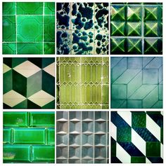 """Favoriete tegels uit Portugal (Porto, Guimaraes, Lisboa)"" van Erik Gutter"