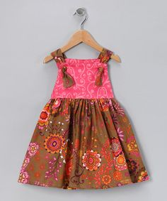 Lil' Daisies dress for V. In zulily