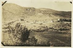 A view of Mescalero, NM. Circa 1910.
