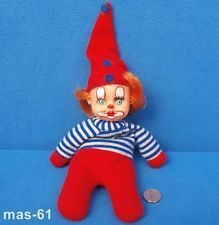 ALTES FLÄMMCHEN 18 CM EL GRECO SISO PUPPE CLOWN HARLEKIN DOLL BEANIE Vintage Dolls, Doll Toys, Elf On The Shelf, Babys, Beanie, Memories, Holiday Decor, Home Decor, El Greco