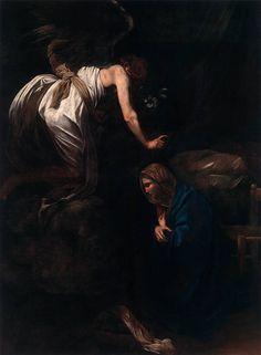 L'Annunciazione è un dipinto di Caravaggio realizzato nella fase tarda dell'attività dell'artista, forse in Sicilia o durante il secondo soggiorno napoletano, probabilmente commissionata dal duca di Lorena, in olio su tela (285x205 cm) nel 1609 circa. È conservato nel Musée des Beaux-Arts di Nancy (Francia).