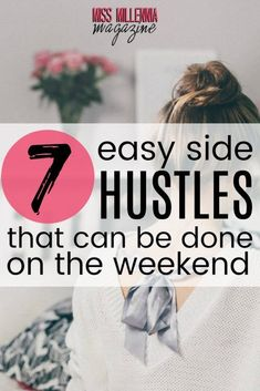 Ways To Make Extra Money Discover 7 Easy Side Hustles That Can Be Done on The Weekend Some side hustles only take a few minutes to get started. Today I want to talk about 7 side hustles anyone can start this weekend. Make Money Blogging, Money Tips, Make Money From Home, Money Saving Tips, Way To Make Money, Make Money Online, Mo Money, Managing Money, Cash Money