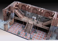on Manorhouse Workshop - Modular Underground Project - Levels & Stairs