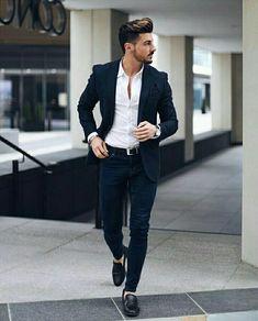 Mens fashion blazer, blazer outfits men, big men fashion, casual blazer, me Suits Outfits, Blazer Outfits Men, Blazer Jeans, Mens Fashion Blazer, Mens Fashion Sweaters, Casual Blazer, Suit Fashion, Men Casual, Shirt Outfit
