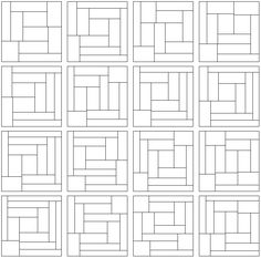 These Blanche dissections are ways to divide up the square into equal-area rectangles. So far non Blanche dissection has all rectangles with integer dimensions. Area And Perimeter, Integers, This Or That Questions