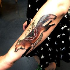 #fox #ink #tattoo What does the fox say?