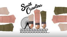 State Paint Color Palettes | Paint Color Collections | Sherwin-Williams House Color Schemes, House Colors, Sherwin Williams Color Palette, Paint Color Palettes, Favorite Paint Colors, Sherwin William Paint, Paint Schemes, Southern Belle, Color Combos