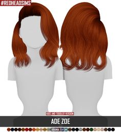 ADE ZOE - KIDS AND TODDLER VERSION | REDHEADSIMS - CC