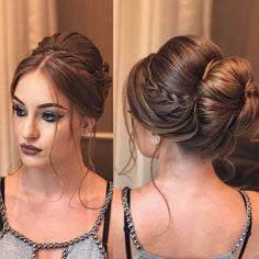 Boa noite insta 💖 Já estamos a caminho de SP ❤️ mas aqui vai uma fotinho de uma das clientes de hoje ☺️ que além de cliente já foi minha modelo também pra vídeo 😍 Gabi ficou linda 😱 makeup de @elaisacamilo hair @ojoaquim 💋