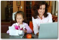 otthoni munka az anyák számára)