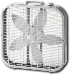 Lasko - Box Fan - White