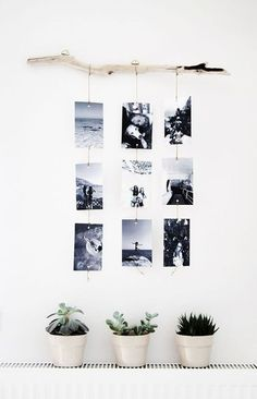 Make a photo wall yourself: ideas for a creative wall design Fotowand selber machen: Ideen für eine kreative Wandgestaltung Make a photo wall yourself: ideas for a creative wall design Diy Wand, Cheap Home Decor, Diy Home Decor, Decoration Home, Cheap Office Decor, Cheap Wall Decor, Wall Design, House Design, Chair Design