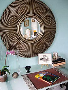 Art deco mirror - TWH