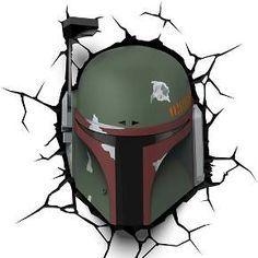 Star Wars Boba Fett Wall Nightlight