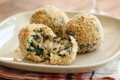 Brown Rice and Kale Arancini