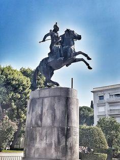 Γεώργιος Καραισκάκης Be Glorified, The Son Of Man, Statue Of Liberty, Worship, Greece, Country, Travel, Liberty Statue, Rural Area