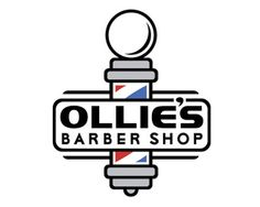 barber logo with nice bold line work