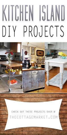 Kitchen Island DIY Projects - The Cottage Market