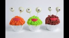 Monster Fur Cupcake Tutorial- Rosie's Dessert Spot