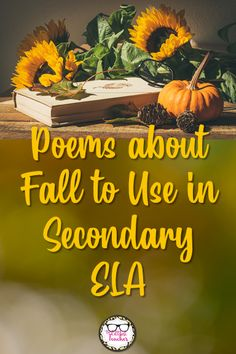 Here are 12 poems found online that are perfect to study during autumn in ELA! #poetry #ELA #teachingpoetry #fall #TheLittlestTeacher English Language, Language Arts, Creative Writing Classes, English Teaching Resources, Teaching Poetry, National Poetry Month, Secondary Teacher, High School English, Christian School