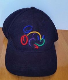 Walt Disney World Mickey Mouse Outline Hat Baseball Cap Adjustable  Embroidered ec3eb7206cc3
