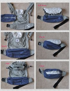 Baby Carrier Cover Reversible by dahliaGdesigns on Etsy (Love this idea, getting one as soon as I can!)