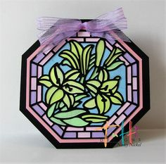 """Hello, friends!     It's Nancy Nickel back today with a new Tutti Designs share!   I was excited to create with this """" Easter Lilies Wind..."""