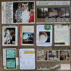 Great ways to use smaller photos in Project Life.