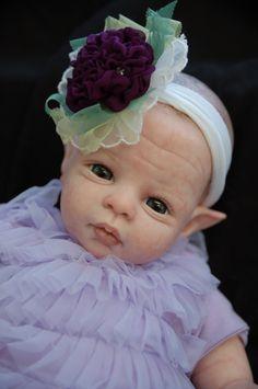 Violet LE Reborn kit Artist Sample reborn by the original artist :) Shawna Clymer Newest fairy for 2014 _ www.ClymerCreations.com :)