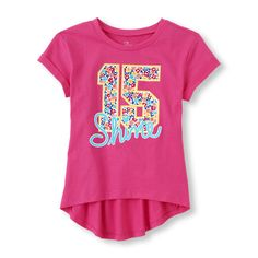 The Childrens Place Baby Girls Chambray Babydoll Shirt