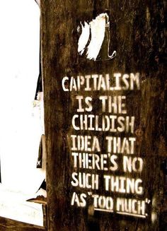 capitalism...