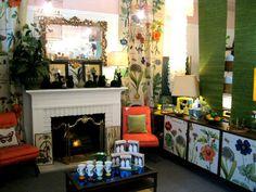 Street Scene Botanicals Room Spring 2012
