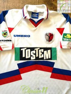 bd5b93f8ef5 1996 Kashima Antlers Away J.League Football Shirt (L)