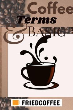 The world of coffee consumption can get a bit confusing if you are not familiar with the common jargon associated with this wonderful brew. Here's your chance to brush up on your coffee knowledge and get familiar with some basic coffee terms so you can speak confidently using the latest coffee lingo. #Coffee #CoffeeBasic #FriedCoffee #Espresso #CoffeeTerms Uses For Coffee Grounds, Coffee Uses, Coffee Tasting, Coffee Drinks, Coffee Shops, Pod Coffee Makers, Coffee Lovers, Steeped Coffee, Coffee Shop