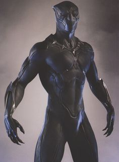 We've collected over 40 pieces of Black Panther concept art and here you'll find the first batch of that featuring futuristic, comic accurate, and cat-like takes on T'Challa's costume in the Marvel movie. Black Panther Marvel, Black Panther Storm, Black Panther Art, Marvel Comics Art, Marvel Heroes, Wallpaper Animé, Top Superheroes, Wakanda Marvel, Marvel Concept Art