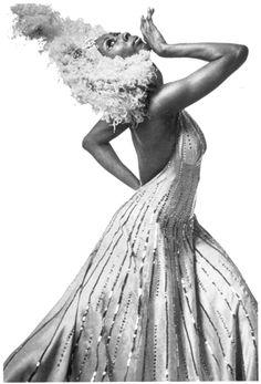 "Alvin Ailey American Dance Theater's Judith Jamison in Alvin Ailey's ""The Mooch e""."