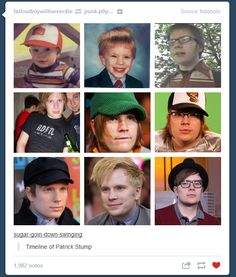 If you say you arent attracted to Patrick Stump youre lying. Even my MOM is attracted to patrick stump.