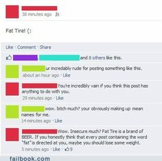 funny facebook fails - Insecure much?