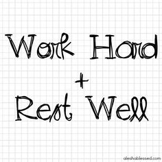 31 Days to Work Hard + Rest Well: Learning Obedience in the Rhythms of Work and Rest