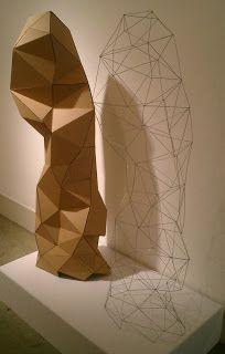 Oberlin Studio Art: Visual Concepts: Intro. Sculpture: cardboard ...