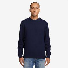 Journeyman Sweater, Blue Shadow