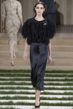 Chanel Spring 2016 Couture Fashion Show - Camille Hurel