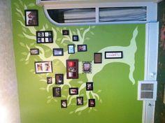 Family tree wall.