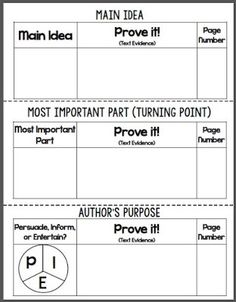 #FreebieFriday I'm a Text Detective Reading Response Mini-Booklet - Copy this FREE product front to back, cut apart on the dotted lines, and staple into a mini-booklet for students to instantly respond to any fiction text! Perfect for use during literacy centers, guided reading, or whole class instruction. #TPT #Free