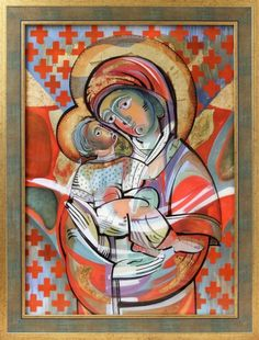 MOTHER OF GOD Artist: Oksana Romaniv-Triska