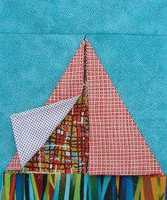 Tent Block/Teepee Quilt Block   Sew Mama Sew  