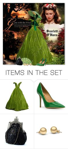 """""""Scarlett O'Hara - Gone with the Wind"""" by petri5 ❤ liked on Polyvore featuring картины"""