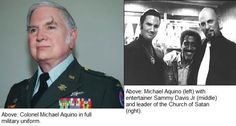 The big Sadistic Satanist child molester Michael Aquino is now running the NSA - The Temple was established in 1975 by Michael Aquino, a political scientist, military officer, and a high-ranking member of Anton LaVey's Church of Satan.Throughout much of the 1980s, Aquino was at the center of a controversy involving the Pentagon's acquiescence to outright Satanic practices inside the military services. Aquino was also a prime suspect in a series of pedophile scandals.