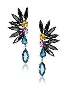 Fan-earrings