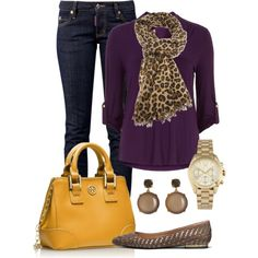 """""""Yellow and Purple"""" by miranda7rose on Polyvore"""